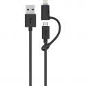 USB kabel 2 v 1