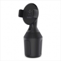 Smartphone support for cup holder