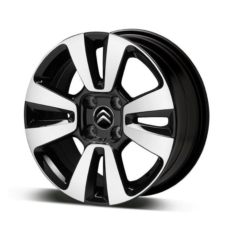 """Juego de 4 llantas de aleación Citroën MATRIX 16"""" - C3 Aircross SUV"""
