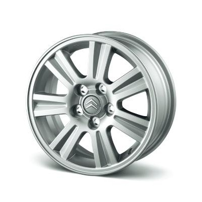 "Set of 4 alloy wheels Citroën ITOKA 16"" - C4 Aircross SUV"