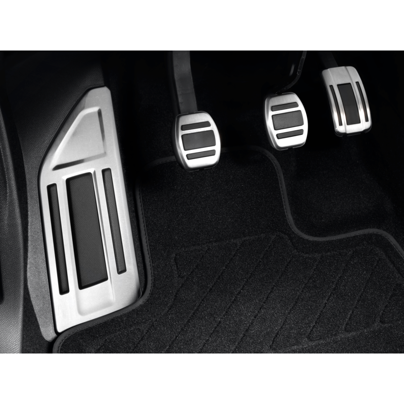 Kit de pedales y reposapies de aluminio para caja de cambios manual Citroën C5 Aircross