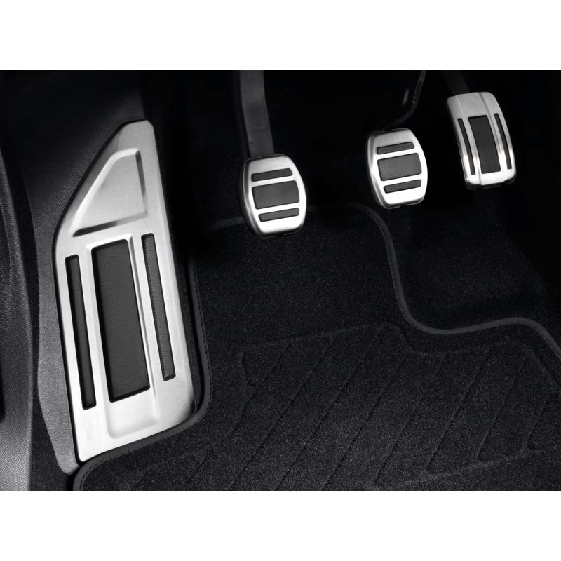 Sada hliníkových šlapek pedálů a opěry chodidla pro MANUÁLNÍ převodovku Citroën C5 Aircross