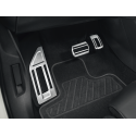 Aluminium pedals and footrest kit for AUTOMATIC gearbox Citroën C5 Aircross, DS7 Crossback