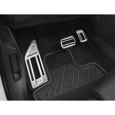Sada hliníkových šlapek pedálů a opěry chodidla pro AUTOMATICKOU převodovku Citroën C5 Aircross, DS7 Crossback
