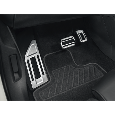 Súprava hliníkových pedálov a opierky na nohy pre AUTOMATICKOU prevodovku Citroën C5 Aircross, DS7 Crossback