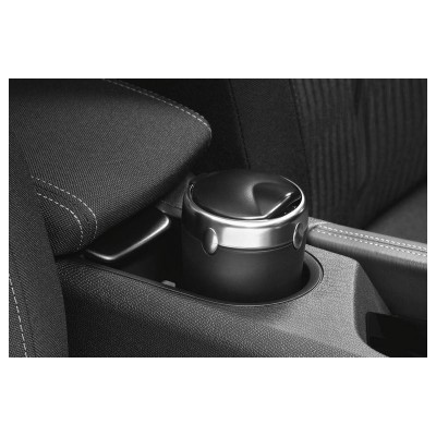 Ash tray with brushed aluminium ring Citroën
