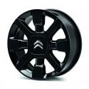 """Set of 4 alloy wheels Citroën CROSS NOIRE 17"""" - C3"""