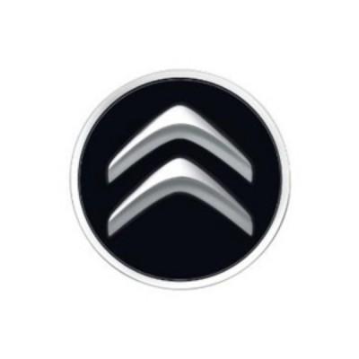 Stredová krytka Citroën čierna onyx
