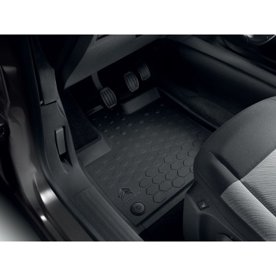 Set of rubber floor mats front Citroën Berlingo (K9)