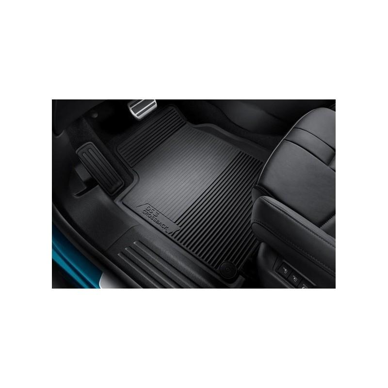 2009-2015 Nero Auto Tappeti Ago Feltro 4tlg Tappetini Citroen ds3