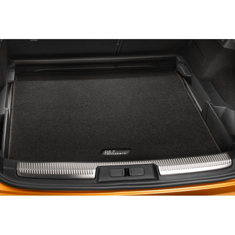 Luggage compartment mat needle pile carpet DS 7 Crossback SUV