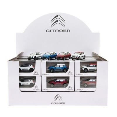 Miniature Citroën C3