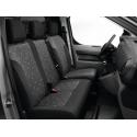 Potahy sedadel TISSU ALIX - Citroën SpaceTourer, Opel Zafira Life