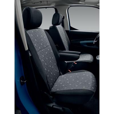 Poťahy sedadiel TISSU ALIX Citroën Berlingo (K9), Opel Combo Life (K9), Peugeot Rifter (K9)