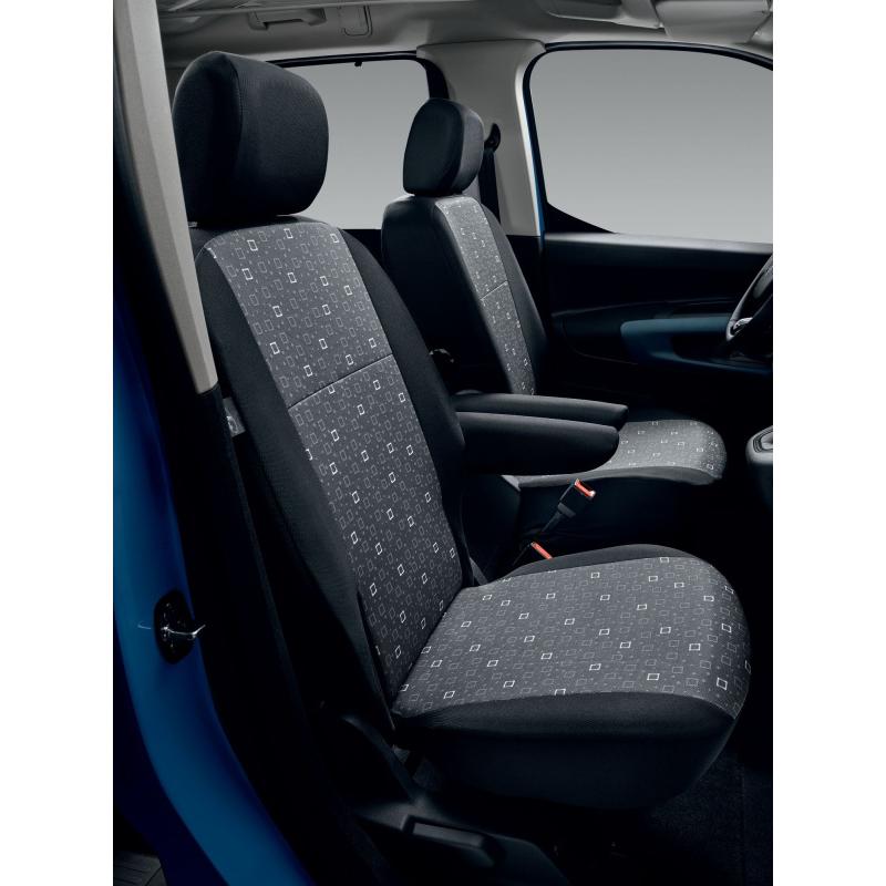 Potahy sedadel TISSU ALIX Citroën Berlingo (K9), Opel Combo Life (K9), Peugeot Rifter (K9)
