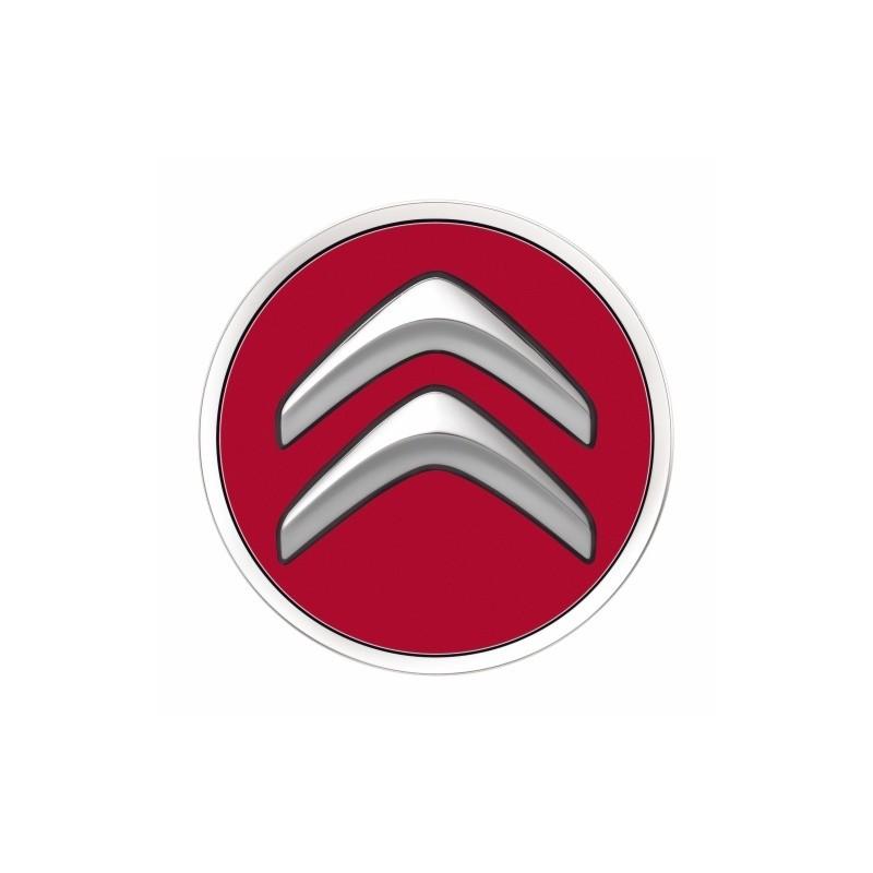 Set of 4 Center caps Citroën - red ADEN