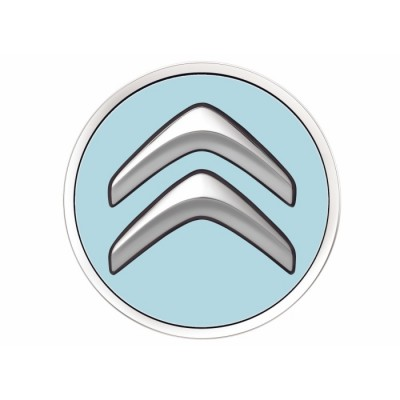 Sada 4 ks středových krytek Citroën - modré BOTICELLI