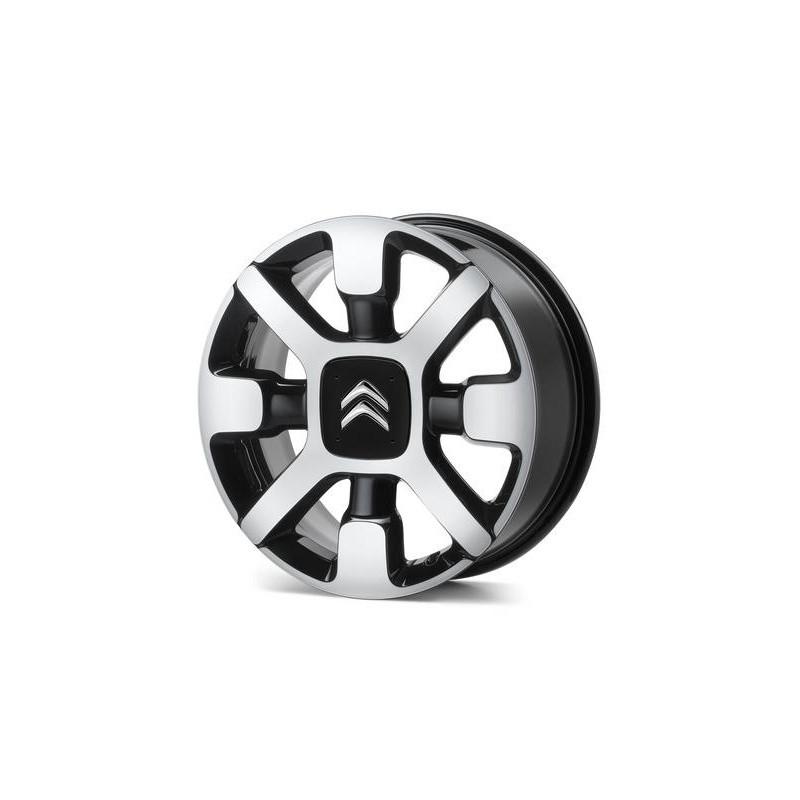 "Set of 4 alloy wheels Citroën CROSS 17"" - C3, C4 Cactus"