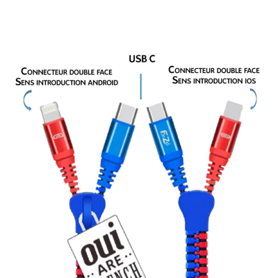 Kabel USB OUI ARE FRENCH