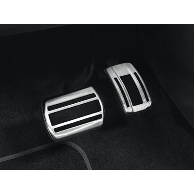 Sada hliníkových šlapek pedálů pro AUTOMATICKOU převodovku Citroën Berlingo (K9), Opel Combo Life (K9)