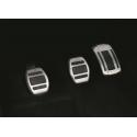 Aluminium pedals for MANUAL gearbox Citroën Berlingo (K9), Opel Combo Life (K9)