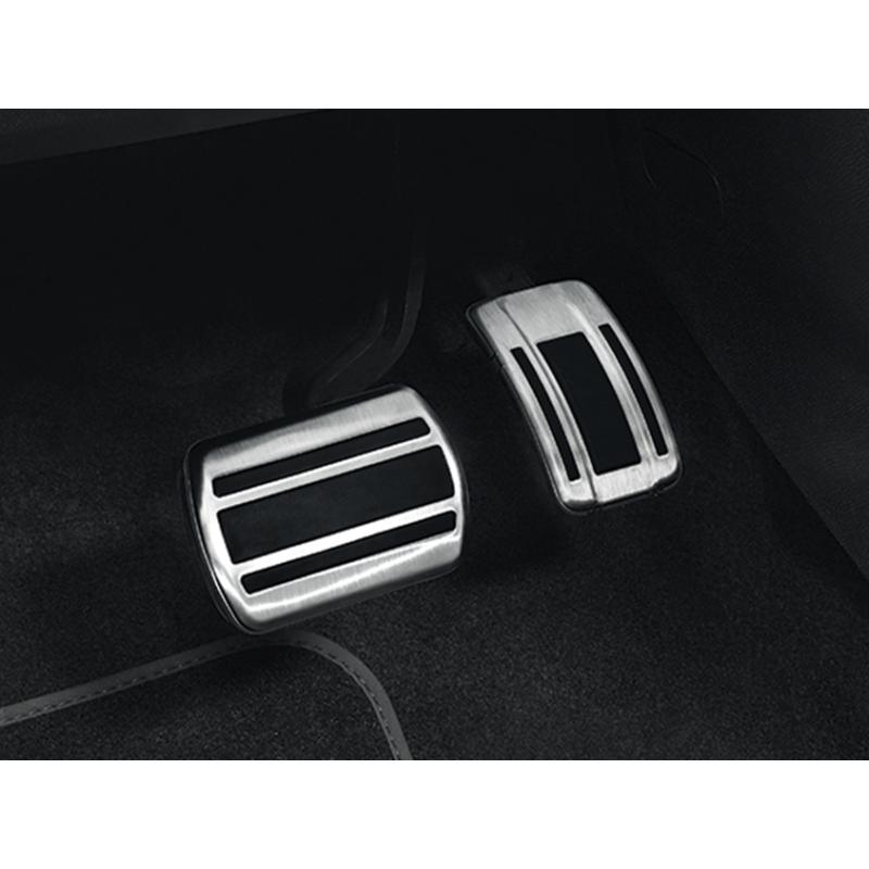 Súprava hliníkových pedálov na nohy pre AUTOMATICKOU prevodovku Citroën, DS Automobiles, Opel