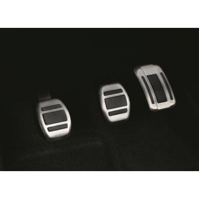 Sada hliníkových šlapek pedálů pro MANUÁLNÍ převodovku Citroën, DS Automobiles, Opel