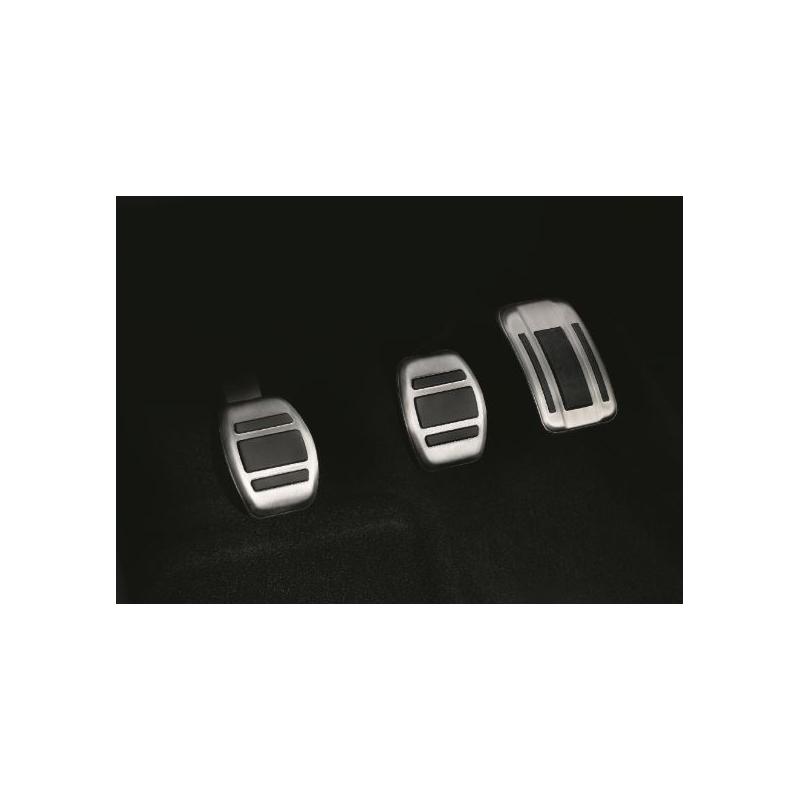 Súprava hliníkových pedálov pre MANUÁLNOU prevodovku Citroën, DS Automobiles, Opel