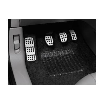 Kit de pedales y reposapies de aluminio para vehículo con caja de cambios manual Citroën C3