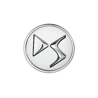Sada 4 ks středových krytek DS Automobiles - BÍLÁ BANQUISE