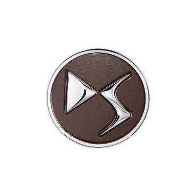 Sada 4 ks středových krytek DS Automobiles - HNĚDÁ TOPAZE