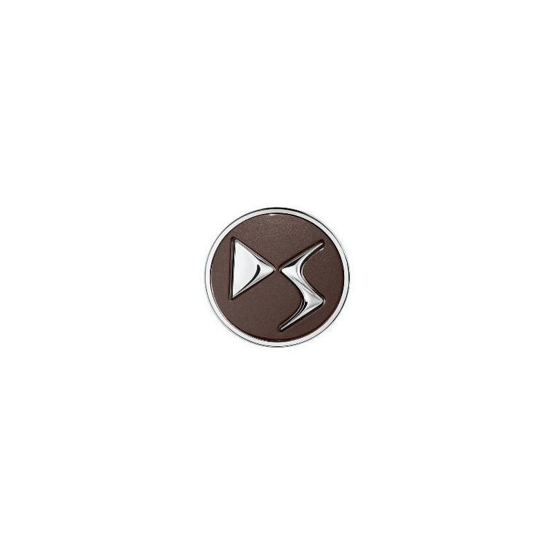 Set of 4 Center caps DS Automobiles - brown TOPAZE