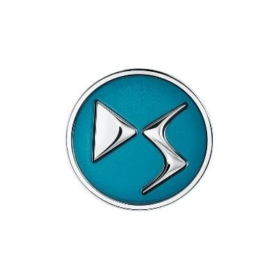 Sada 4 ks středových krytek DS Automobiles - ZELENÁ EMERAUDE