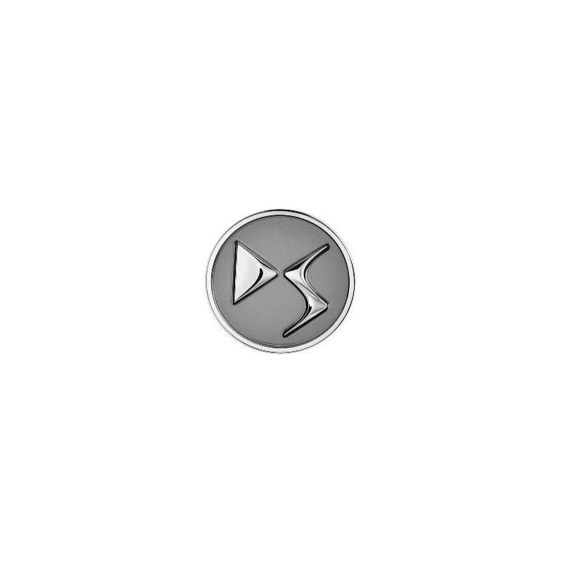 Set of 4 Center caps DS Automobiles - grey ANTHRA
