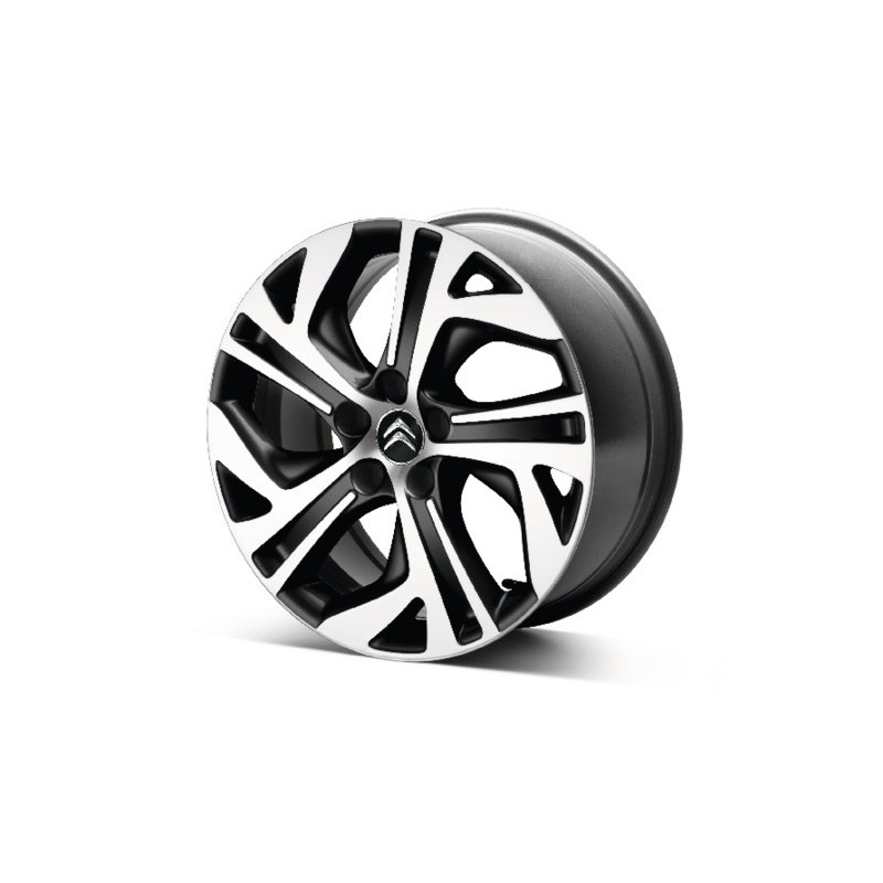 "Set of 4 alloy wheels Citroën ZEPHYR NOIR 17"" - C4 SpaceTourer, Grand C4 SpaceTourer"