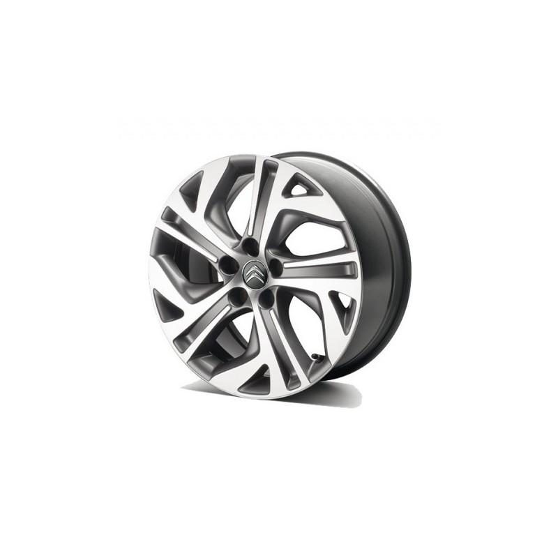 Alloy wheel Citroën ZEPHYR GRIS 17'' - C4 SpaceTourer, Grand C4 SpaceTourer