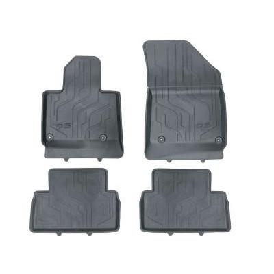Set of rubber floor mats Citroën C5