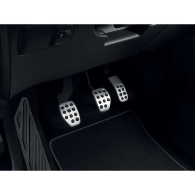 Kit de pedales de aluminio para vehículo con caja de cambios manual Citroën C3 Aircross SUV, C4 Cactus