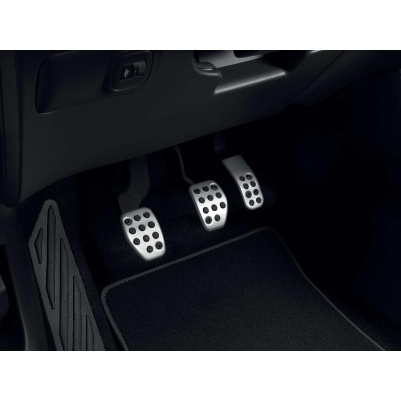 Sada hliníkových šlapek pedálů pro MANUÁLNÍ převodovku Citroën C3 Aircross SUV, C4 Cactus