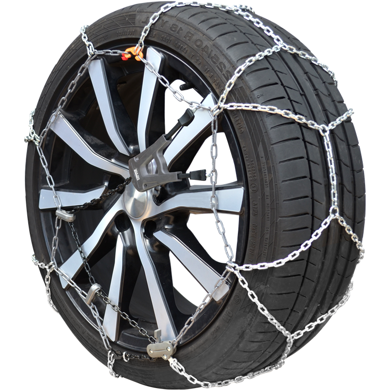 Set of snow chains with cross pieces POLAIRE XK9 130