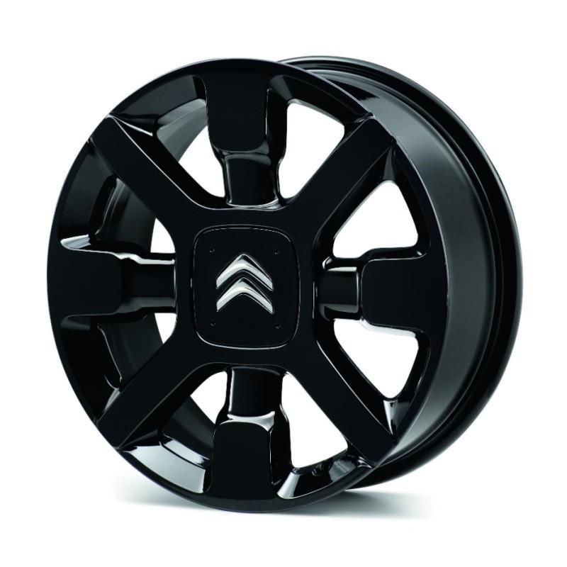 """Alloy wheel Citroën CROSS NOIRE 17"""" - C3, C4 Cactus"""
