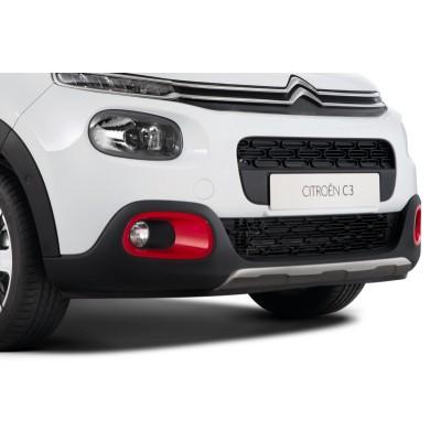 Okrasná lišta predného nárazníka Citroën C3