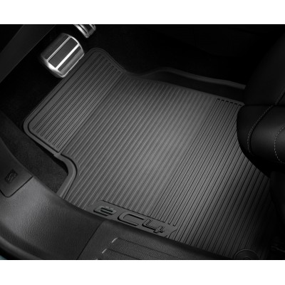 Set of rubber floor mats front Citroën ë-C4 (C41)