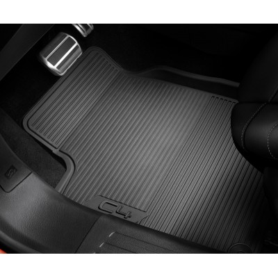 Set of rubber floor mats front Citroën C4 (C41)