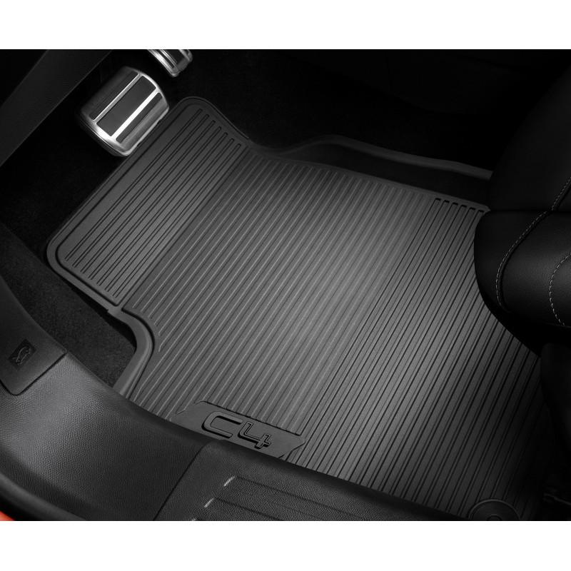 Set of rubber floor mats front Citroën C4 (C41)