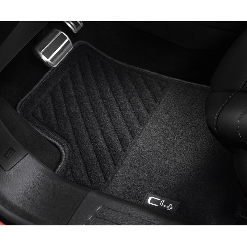 Set of front needle-pile floor mats Citroën C4 (C41)