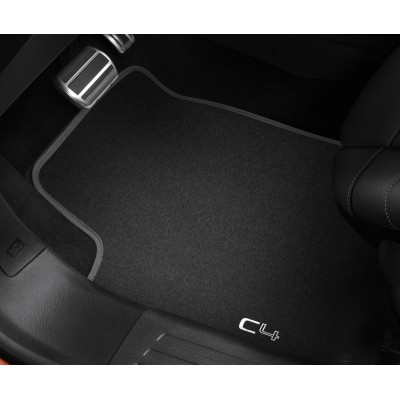 Set of velour floor mats Citroën C4 (C41)