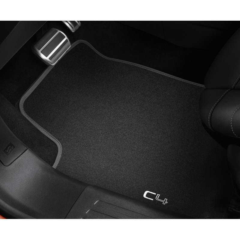 Set of velour floor mats Citroën C4 (C41)