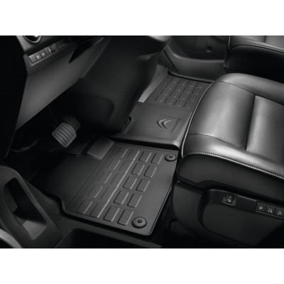 One-piece rubber mat front for RHD Citroën SpaceTourer (K0)