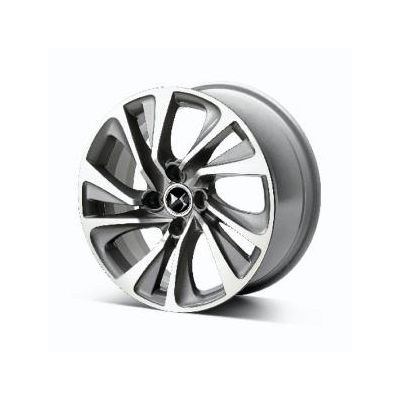 """Set of 4 alloy wheels DS Automobiles CANBERRA GREY 17"""" - DS 4"""